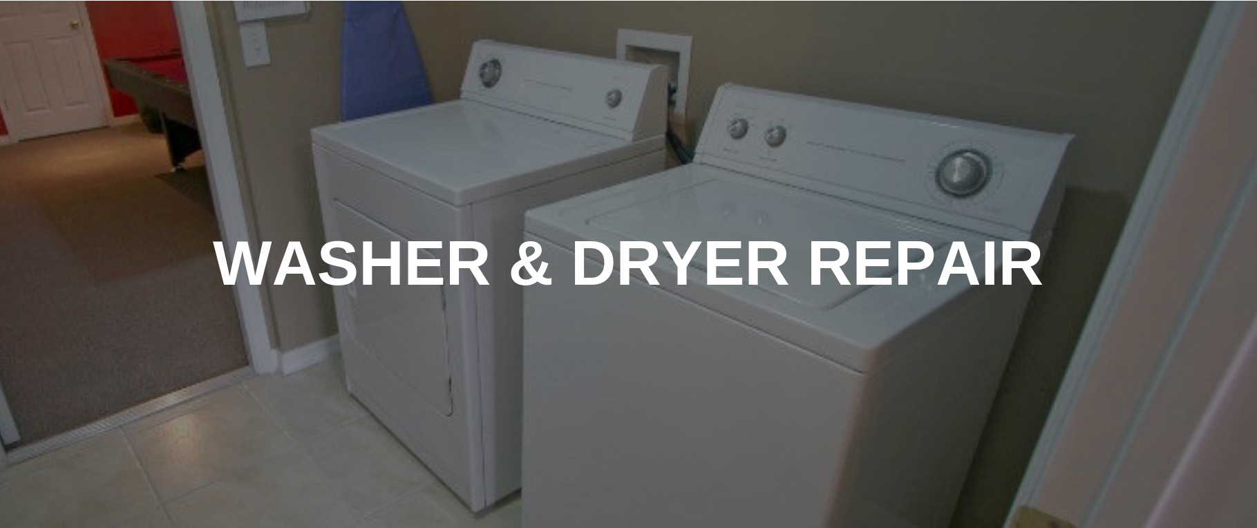 washing machine repair pomona